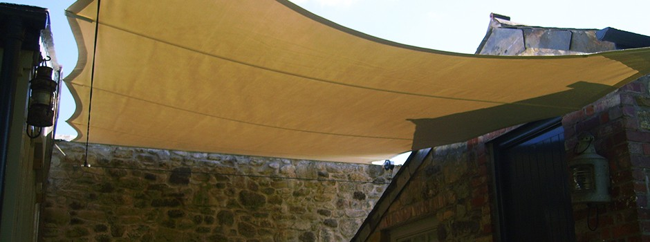 Elegantely Simple Shade Sails